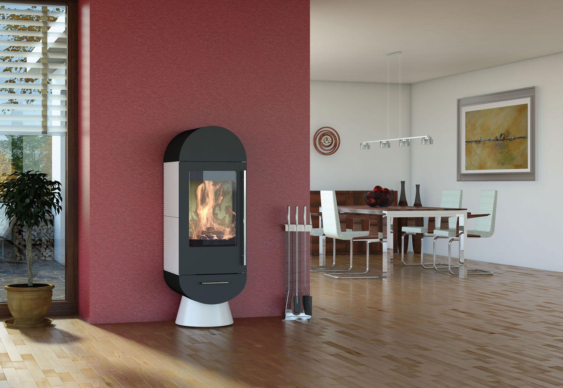 pelletofen wohnzimmer. Black Bedroom Furniture Sets. Home Design Ideas